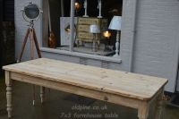 scrub top pine table