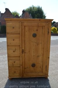 Stock ref W3964 bread/larder cupboard oldpine.co.uk
