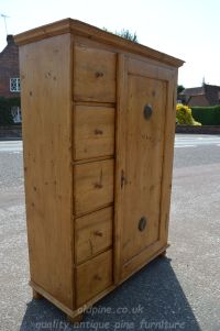 fantastic image Stock ref W3964 bread/larder cupboard oldpine.co.uk
