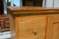 lefthand corner view Stock ref W3964 bread/larder cupboard oldpine.co.uk