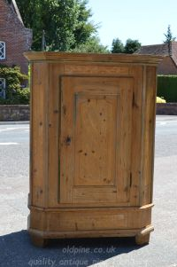 one door cupboard  Stock ref W3948 oldpine.co.uk