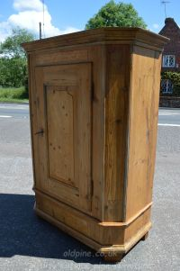 period antique pine cupboard Stock ref W3948 oldpine.co.uk
